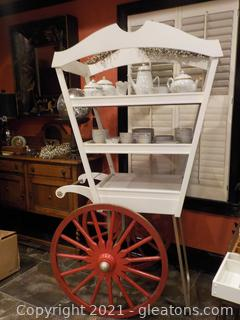 Amazing Market/Display Cart (Contents not included)
