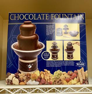 Chocolate Rival Fountain