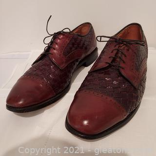 Pair of Allen Edmonds Crandon Brown Leather Oxfords