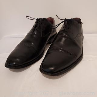 Nice Pair of Allen Edmonds Evanston Black Leather Oxfords
