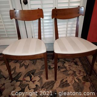 Set of 2 Kipp Stewart – Drexel Declaration Dining Chairs