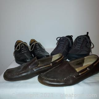 4 Pair of Nice Men's Shoes (4th pair is not in first picture)