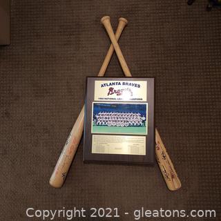 Atlanta Braves Baseball Memorabilia