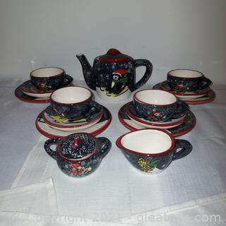 Precious Creatively Yours Miniature Tea Set – Cats