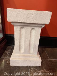 Cement Pedestal