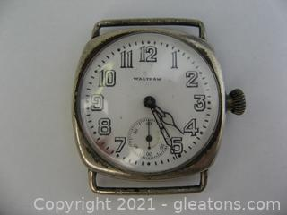 Vintage Waltham Manual Watch