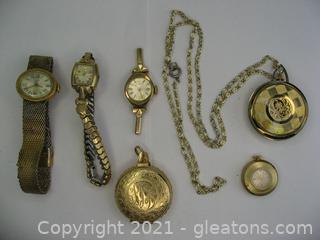 Gold Tone Watch Lot