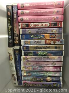 Classics on VHS Lot