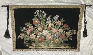 Floral Vintage Tapestry