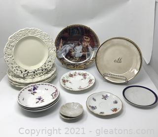 Antique Plate Assortment