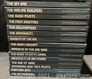 Time-Life Epic of Flight Books