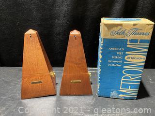 Seth Thomas Metronomes Set