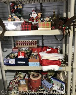 Christmas Shelf Lot