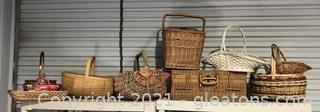 Basket Shelf Lot
