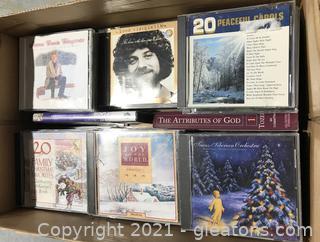 Relaxing Compact Disc Lot
