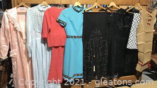 Women's Vintage Clothing Lot