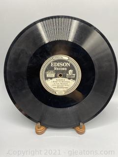 Edison Record Lot