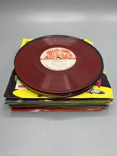 Lot of 45 RPM Records & 78 RPM