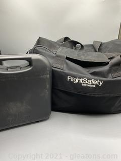 Flight Safety International Duffle Bag and Wahl Animal Grooming Kit
