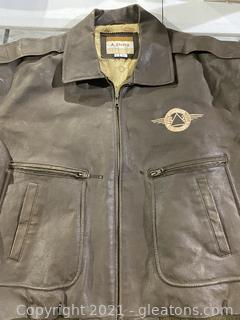 Delta Airlines Leather Jacket