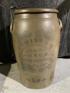 Wonderful Antique Stoneware Jar