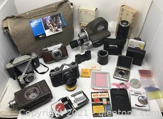 Vintage Camera Lovers Dream Lot