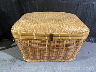 Large Woven Wicker Basket