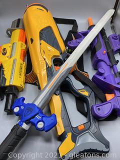 Nerf Gun Lot (A)