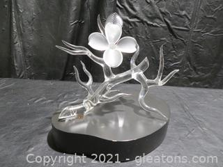 Exquisite Frabel Frosted Dogwood Tree Branch