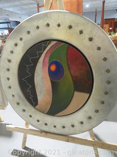 Modern Chrishawn Art: Inner Sun