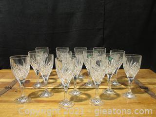 Shannon Crystal By Godinger 16 Dublin Wine Goblets