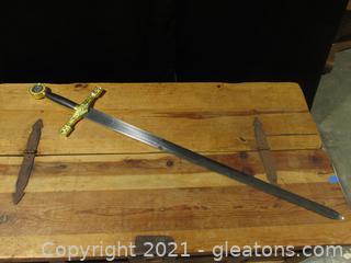 Excalibur ,Sword of King Arthur