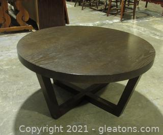 West Elm Round Coffee Table