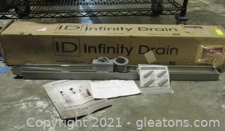 ID Infinity Shower Drain