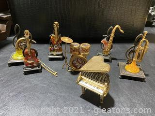 Vintage Fitz & Floyd Glass Menagerie Figurines