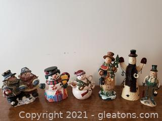 Snowman Decorators Collection