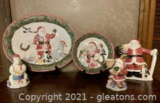 5 Piece Beautiful Christmas Decor