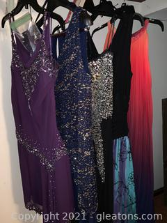 Women's Party Dress Lot