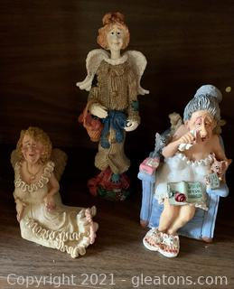 Guardian Grannies and Friends Figurines
