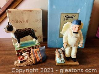 T.E. Signature Mr Top Wrench Retired Angel and Boston Terrier