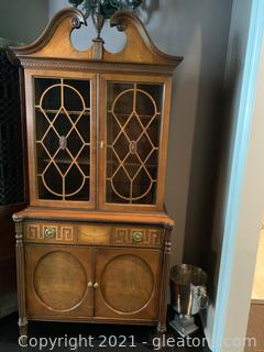 French Country China Hutch