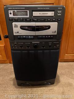 The Singing Machine Model SMG 320 Karaoke System