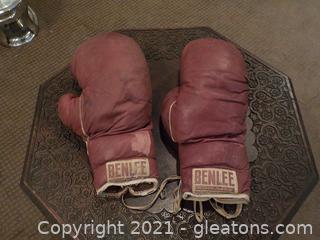 Antique Benlee Boxing Gloves