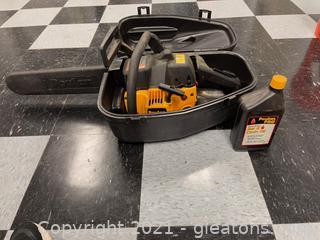 Poulan Pro 260 Chain Saw in Case