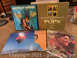 Bin Full of LP Records