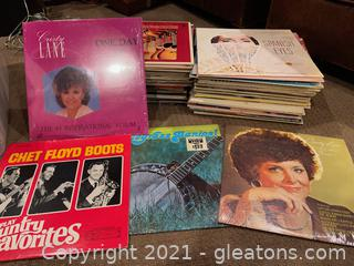Collection of LP Records