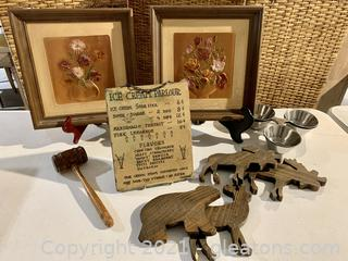 Timeless Embossed Art and Decor Lot