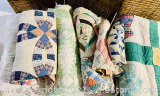 Timeless Quilts and Material Swatches