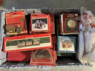 Bin of Christmas Trinkets