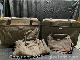 American Tourister Large Vintage Luggage Set